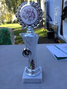 Pokal von Samstag-Richter Herr Wächter